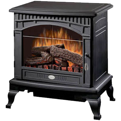 Electric wood stoves room heater electric stove vent for Heating options for homes without gas