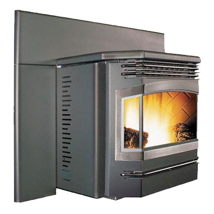 Fake logs for pellet stoves best stoves - Pellet stoves for small spaces set ...