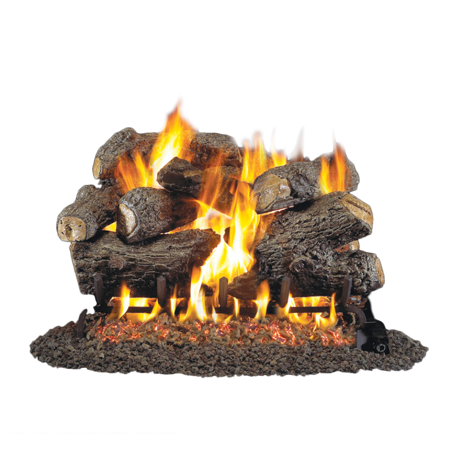 Outdoor Vent Free Gas Logs