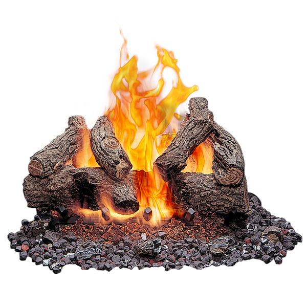 Outdoor Vented Gas Logs