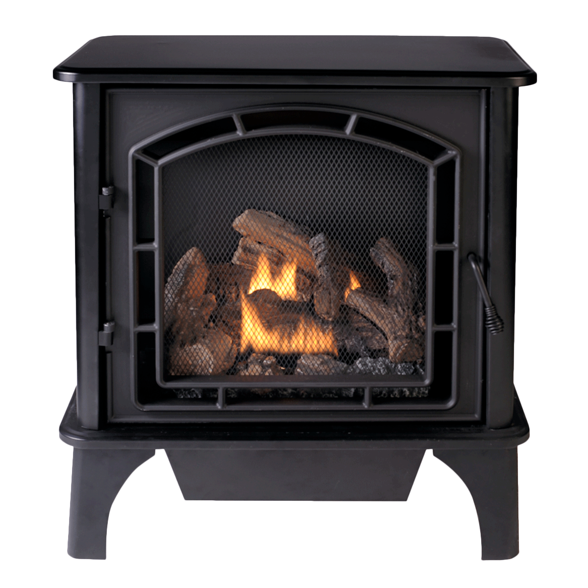 Fireplace terminology glossary of fireplace terms for Heating options for homes without gas