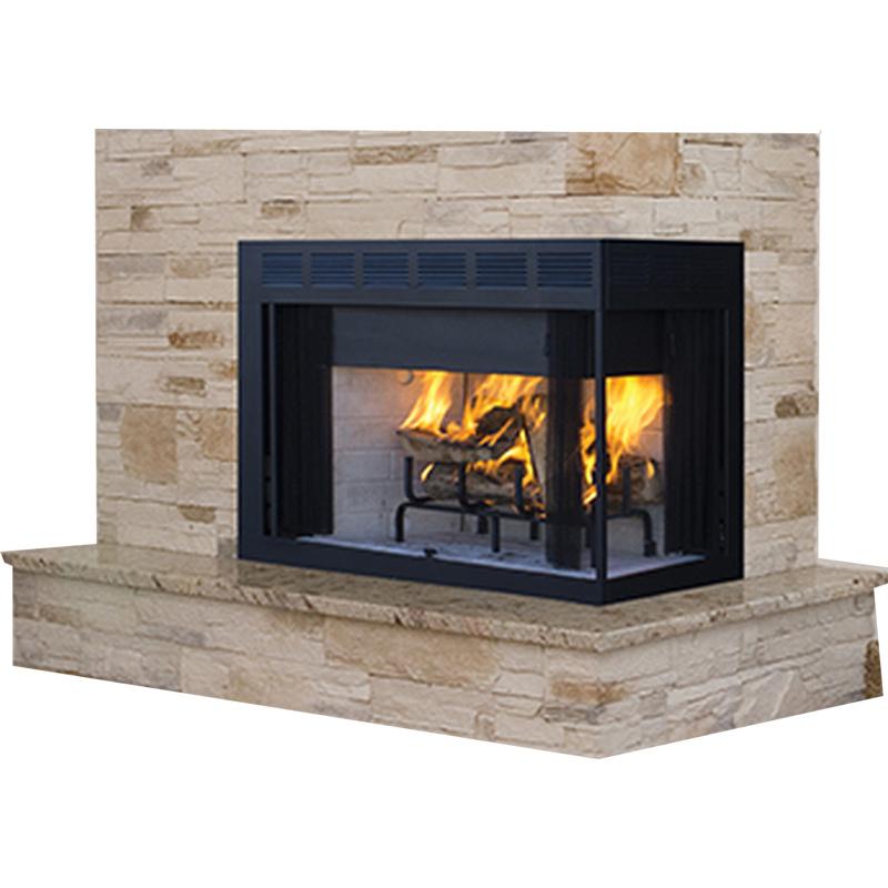 IHP Superior WCT40CLWSI 36 Left Crnr Wd FireplaceLvrd