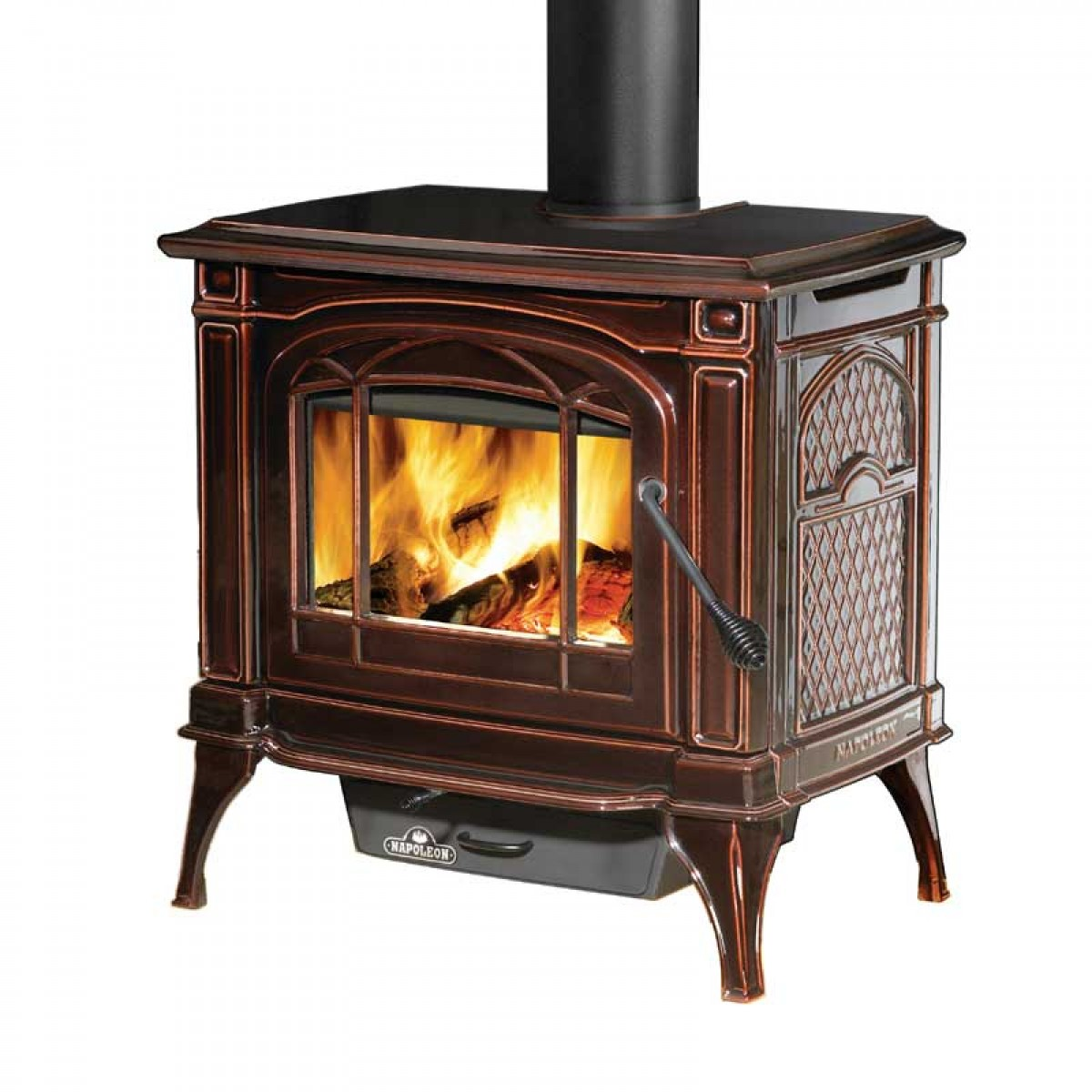 Napoleon 1100c Banff Cast Iron Wood Burning Stove At