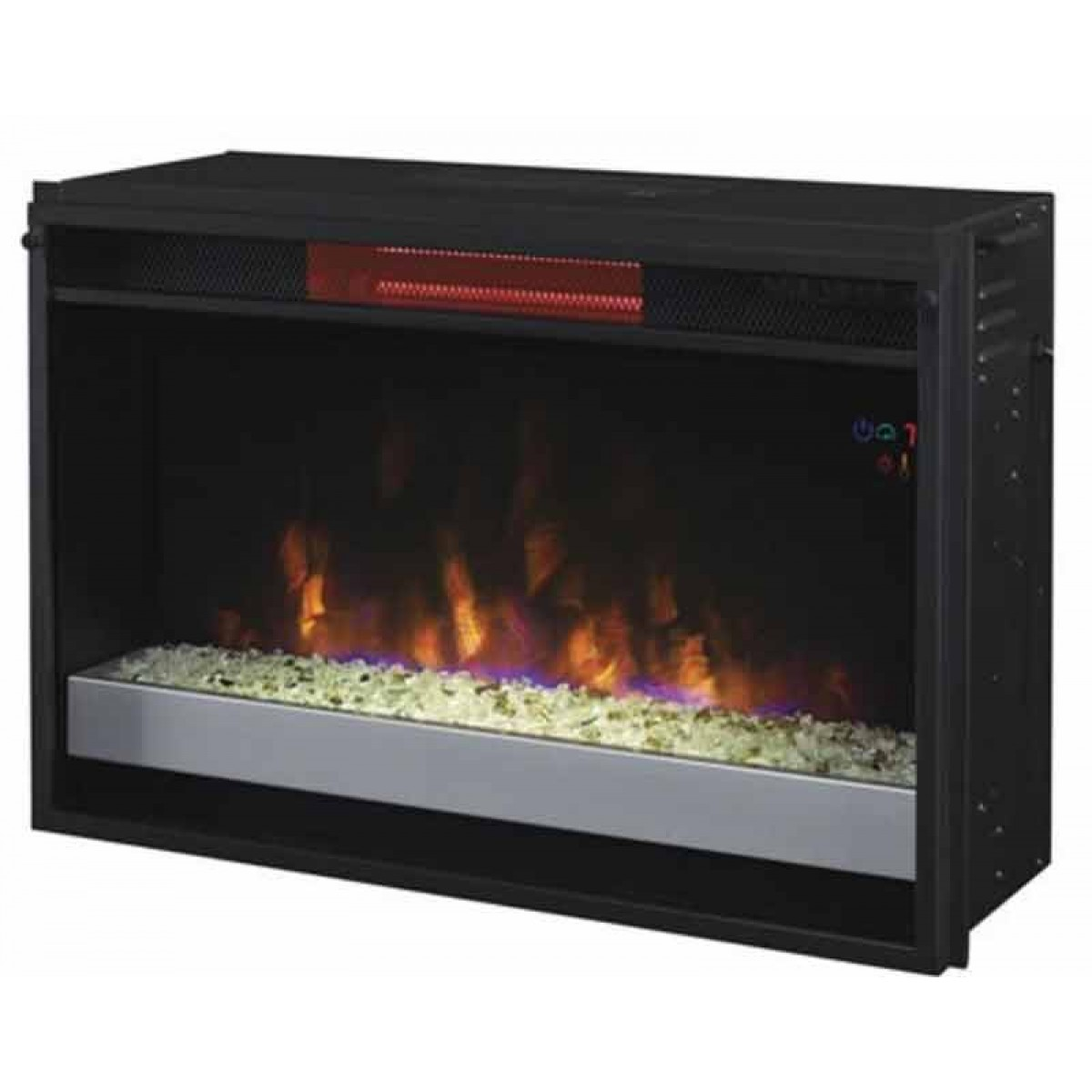 Classic Flame 26ii310grg 201 26 Spectrafire Plus Infrared Contemporary Insert With Safer Plug