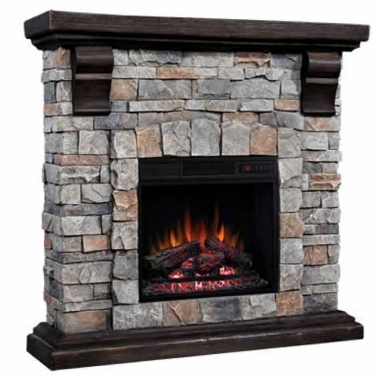 "Find discount prices on the Classic Flame 18"" Electric Insert & Pioneer Mantel Set and other Classic Flame products at iBuyfireplaces.com."