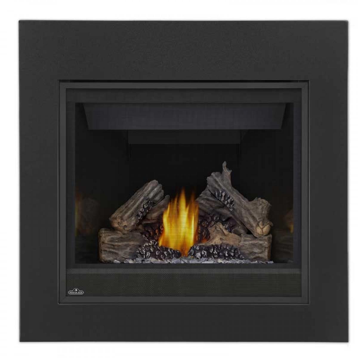 Napoleon B36ntr Ascent 36 Natural Gas Top Rear Vent Fireplace Millivolt At Ibuyfireplaces