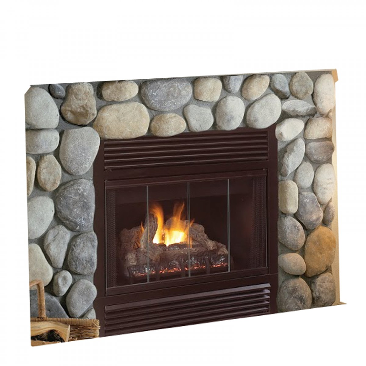 insert vent b fireplace series legend deluxe valor logs products
