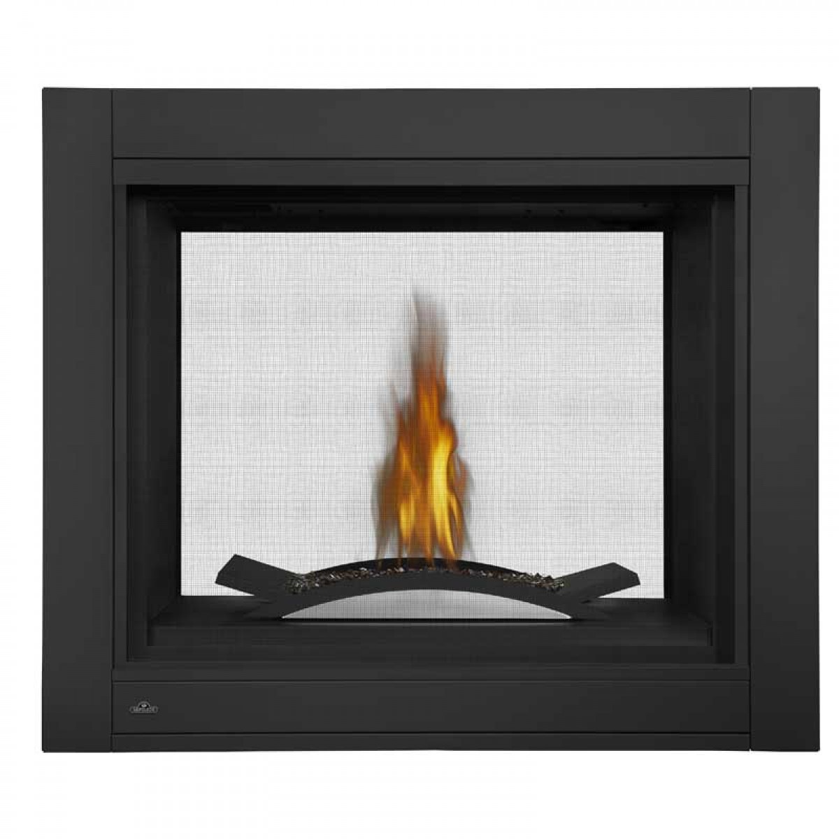 Napoleon Bhd4stfcn Clean Face Fireplace See Thru With Fire Cradle Natural Gas At Ibuyfireplaces