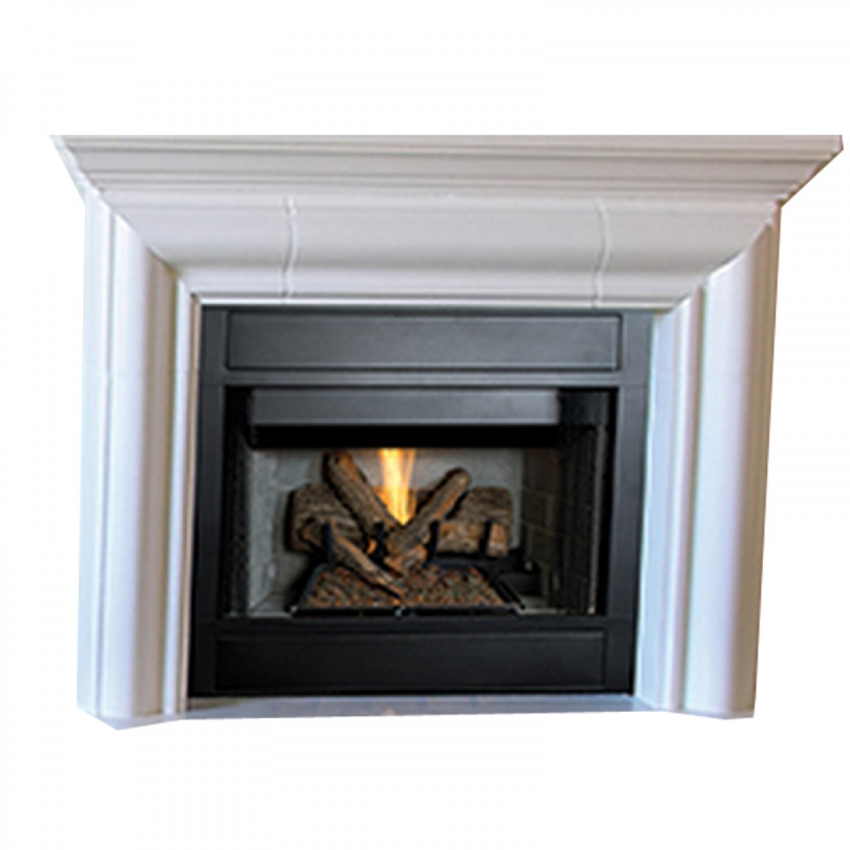 Ihp Superior Brt2032tmn 32 Ng Mv Fireplace Wht Brck Hr