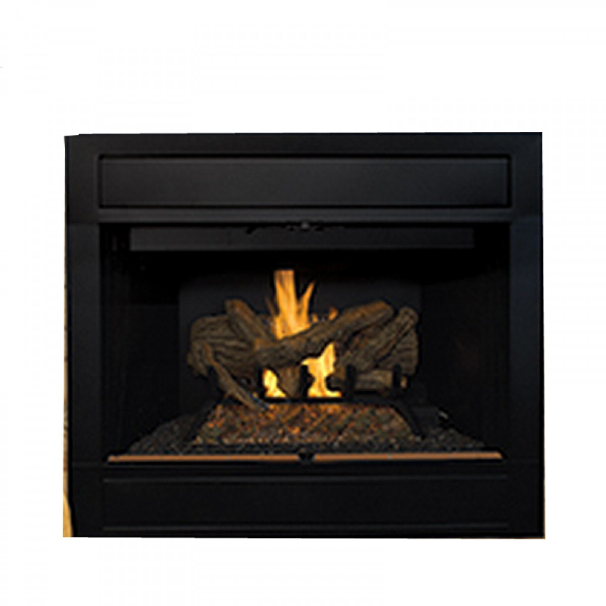 reveal gas products b vent fireplace majestic