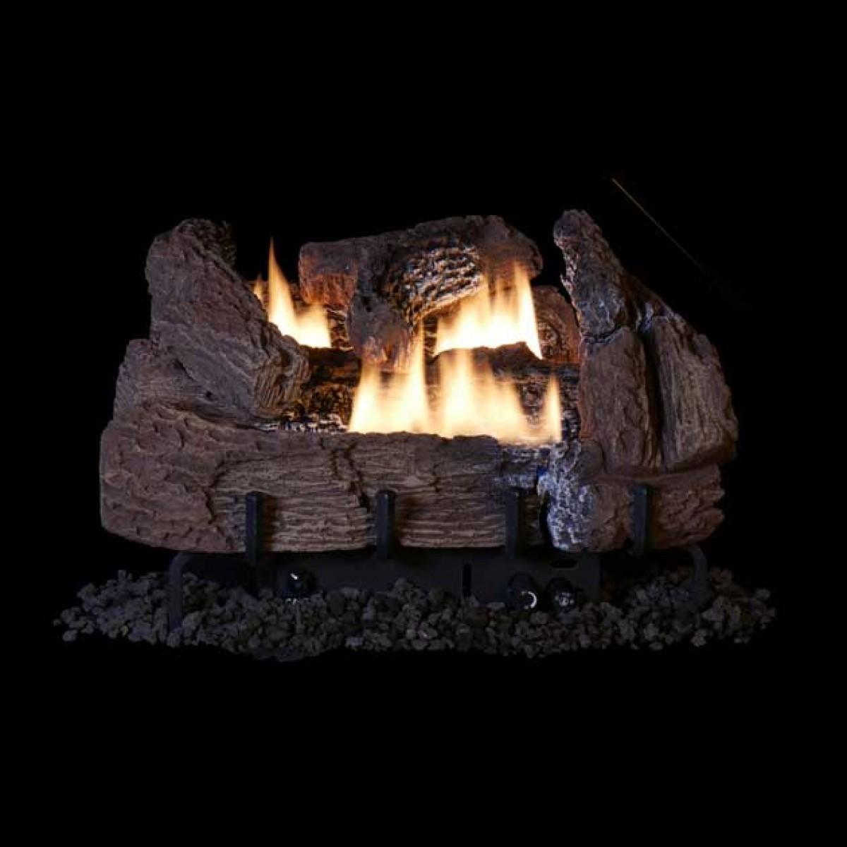 IHP Superior Century Oak Concrete VF Gas Logs