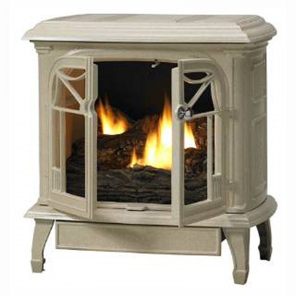 IHP Superior CISAS Aged Silver Vent Free Gas Stove