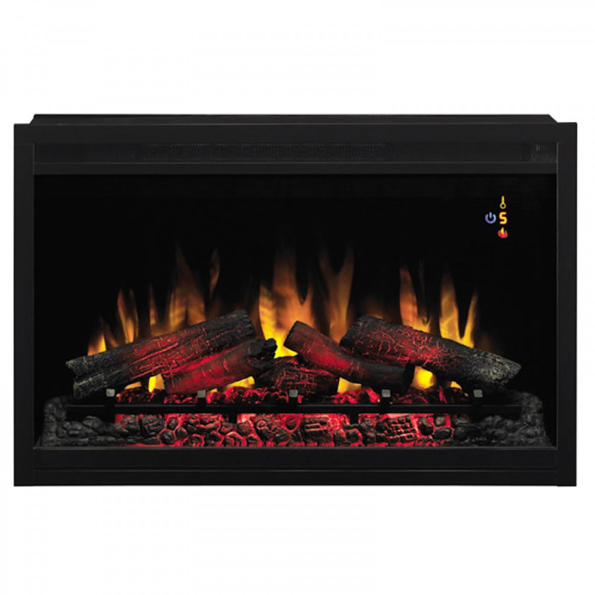 """Classic Flame PRO 36EB110 GRT 36"""" Black Builders Electric"""