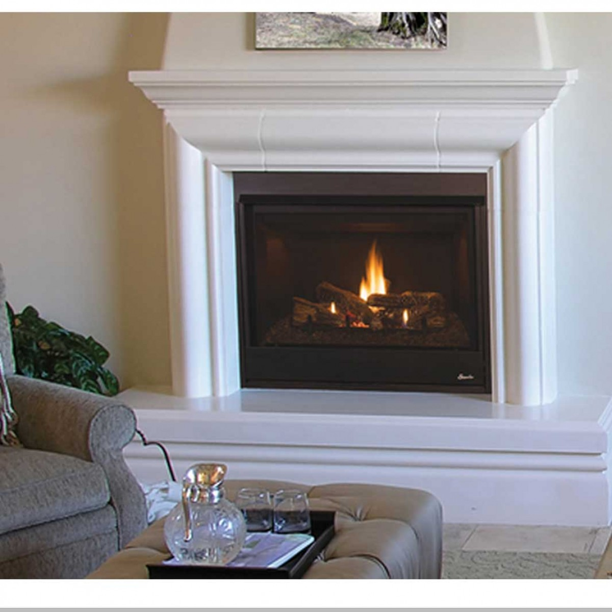 cast in vent sales electric tiara wa vancouver direct iron petite gas fireplace showroom fireplaces
