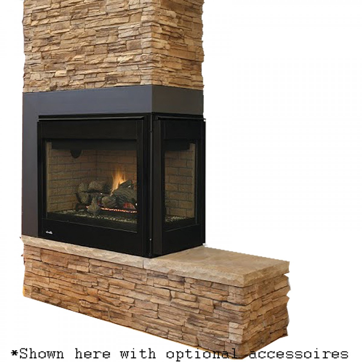 Ihp Superior Drt4000 Multi View Direct Vent Gas Fireplace