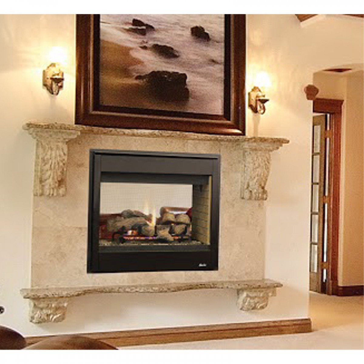 superior drt3500 multi view direct vent gas fireplace