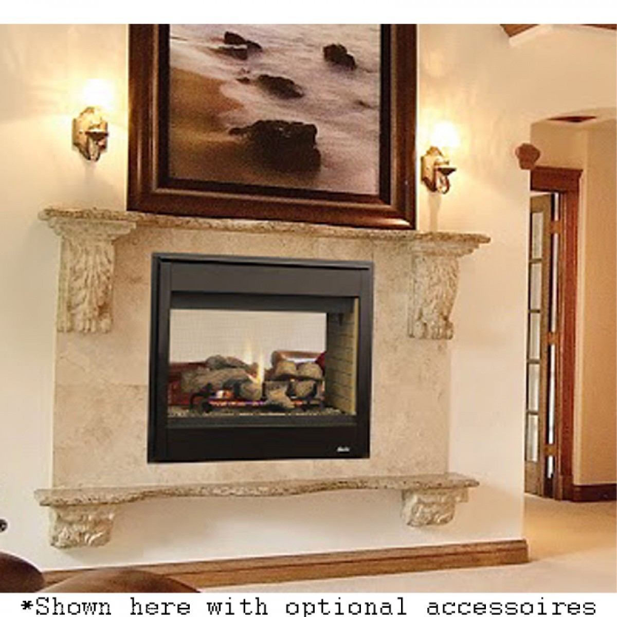 Get a great deal on the IHP Superior DRT4000 Multi-View Direct Vent Gas Fireplace-F2279 at iBuyFireplaces. We stock the full line of IHP Superior Fireplaces at iBuyFireplaces.