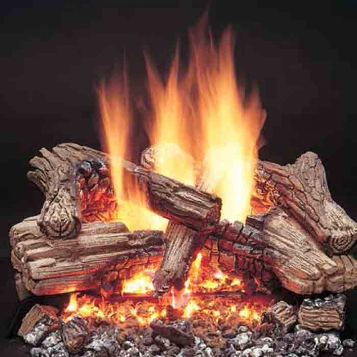 Majestic Vdy24 18d3r 6 Piece Refractory Cement Log Set For