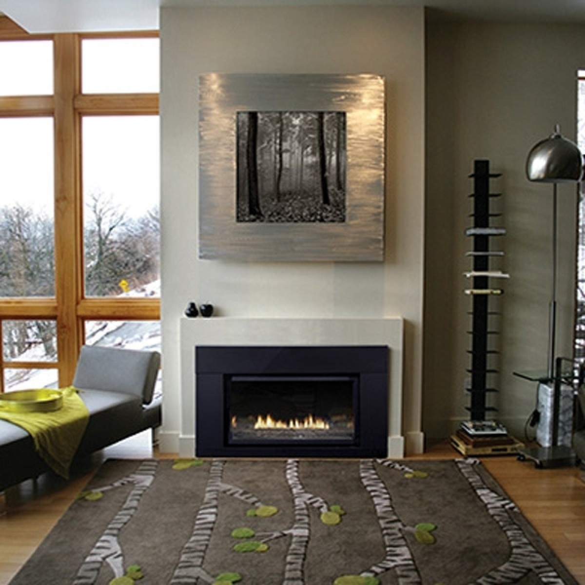 linear lightweight lp of ideas concrete home collection insert gas designing the decoration images modern farmhouse around engineered fireplace