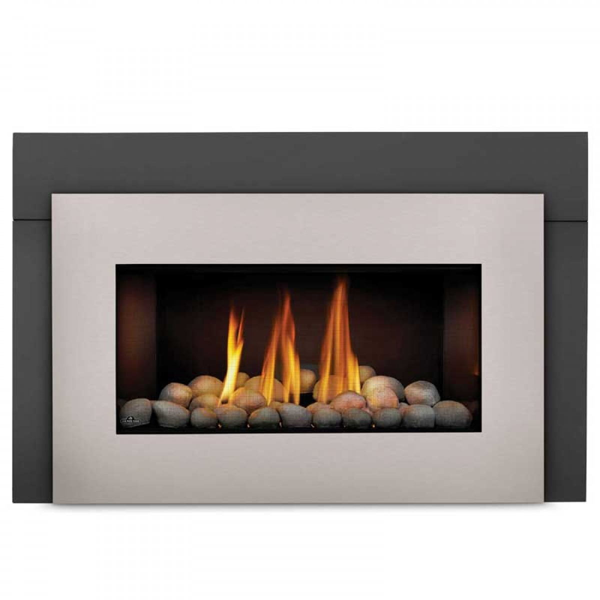 Napoleon Gdi30nsb Basic Fireplace Insert W Glass Door At