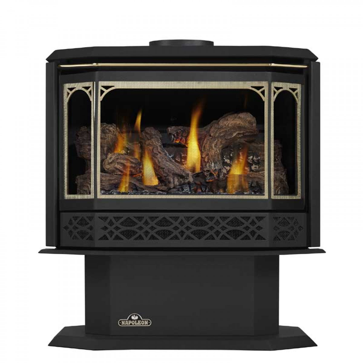Napoleon Gds50 1nsb Direct Vent Natural Gas Stove At