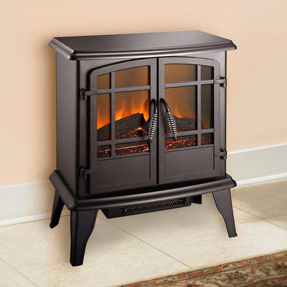 Pleasant Hearth Panoramic Electric Stove Ses 81 80