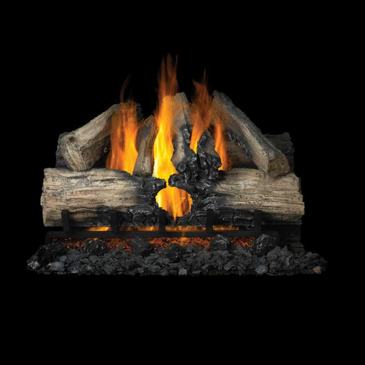 Napoleon Gl28n Reversible Vented Gas Log Sets At