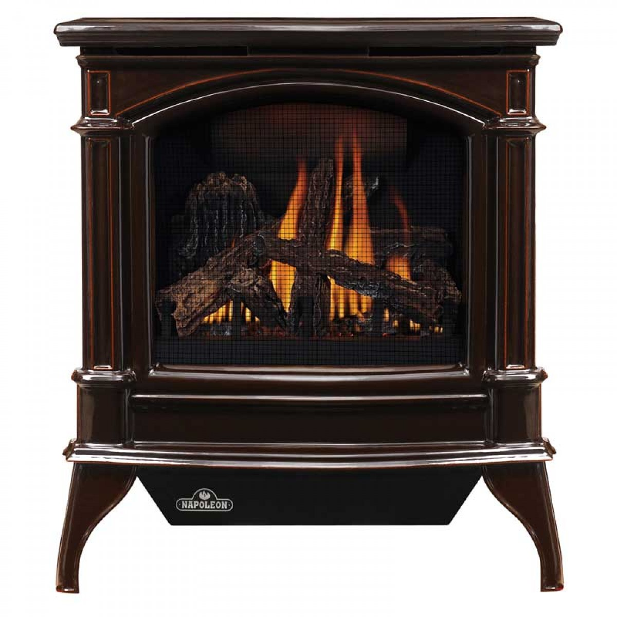 Wood Vs Coal Btu ~ Napoleon knightsbridge vent free cast iron gas stove