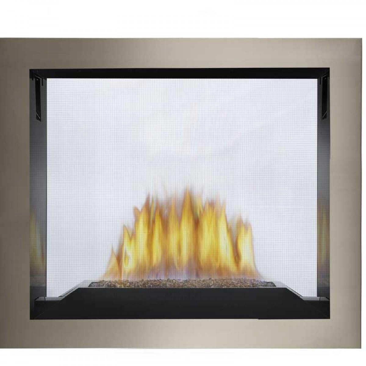 hd81 see thru direct vent hi def gas fireplace