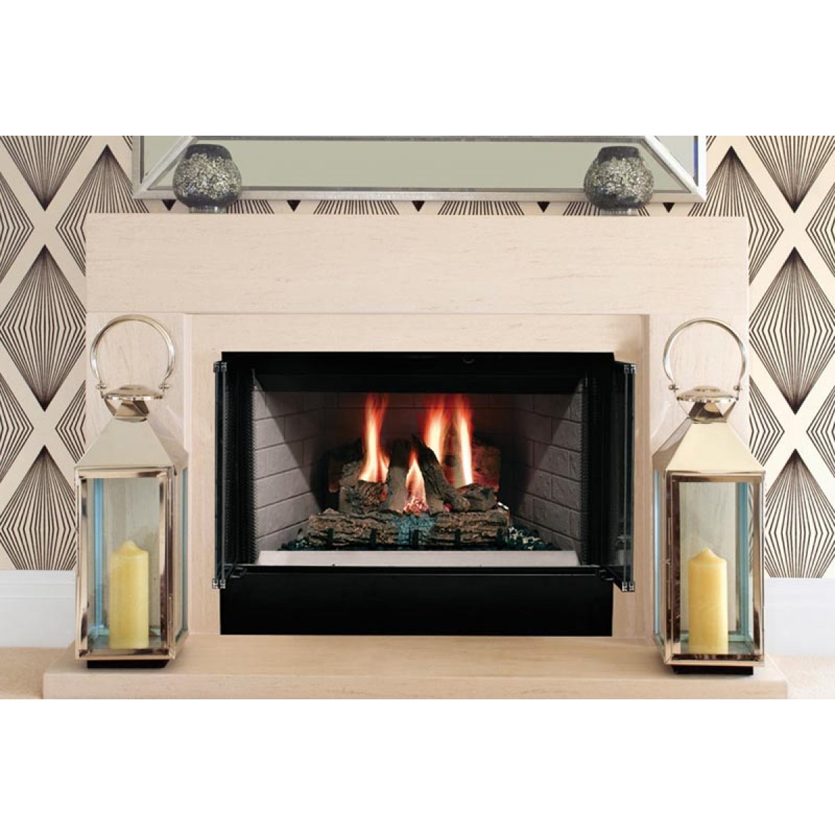Majestic Sa36r Sovereign 36 Quot Radiant Wood Burning
