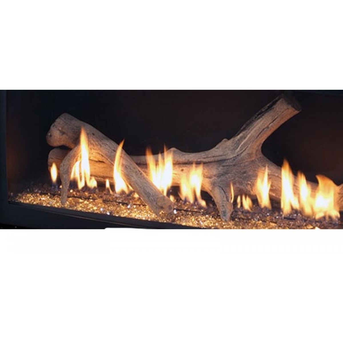 Majestic Adw600 Aged Driftwood Log Set For Wdv600at