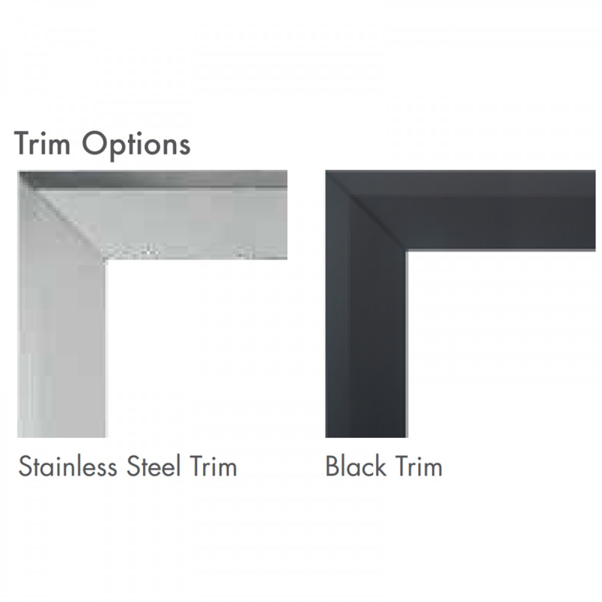 Find discount prices on the Majestic SSTKM42C Stainless Steel Trim Kit Curved Design fits 600DVM/MCUF42D and other Majestic products at iBuyFireplaces.com.