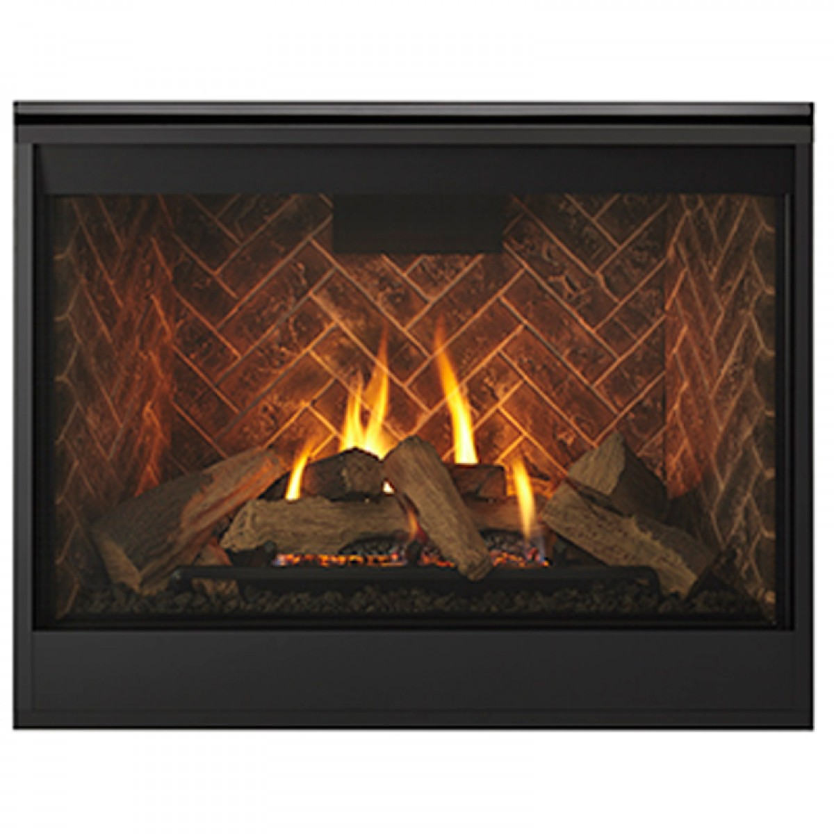 Majestic Meridian 36 Top Rear Direct Vent Lp Fireplace Dbdv36il At