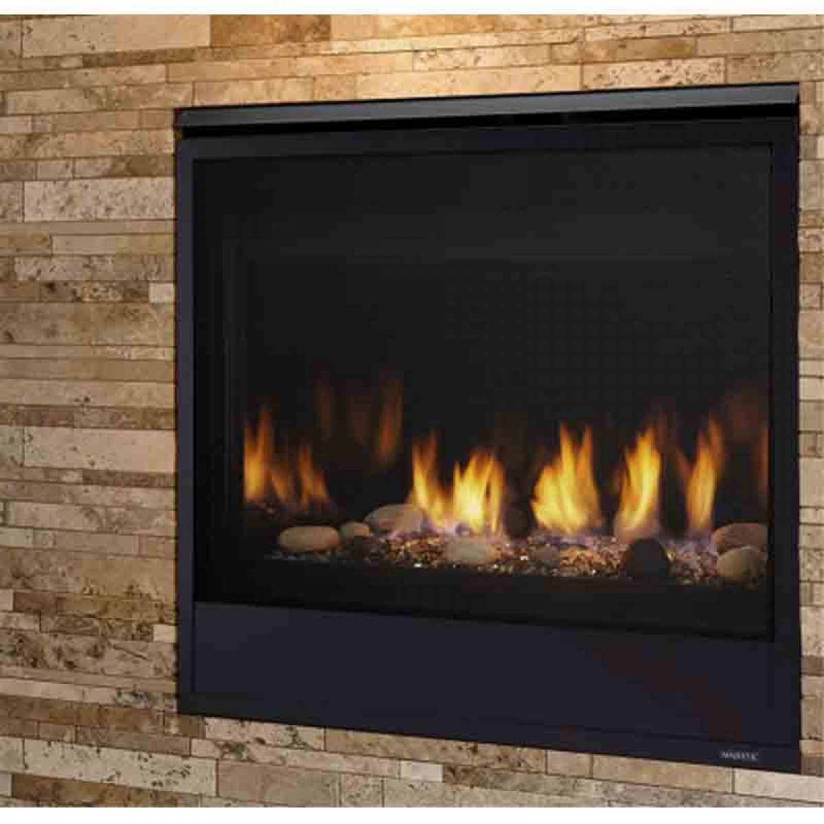 Majestic Quartz Direct Vent Fireplace
