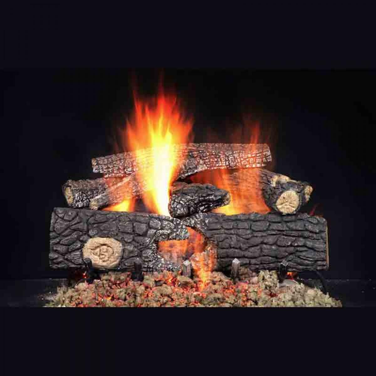 Majestic 24 Fireside Realwood Refractory Cement Log Set