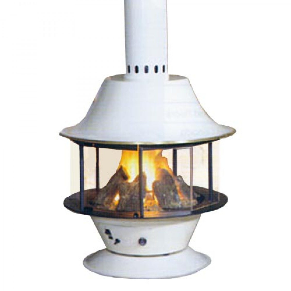 Malm Spin A Fire Wood Burning Or Gas Matte Black Or