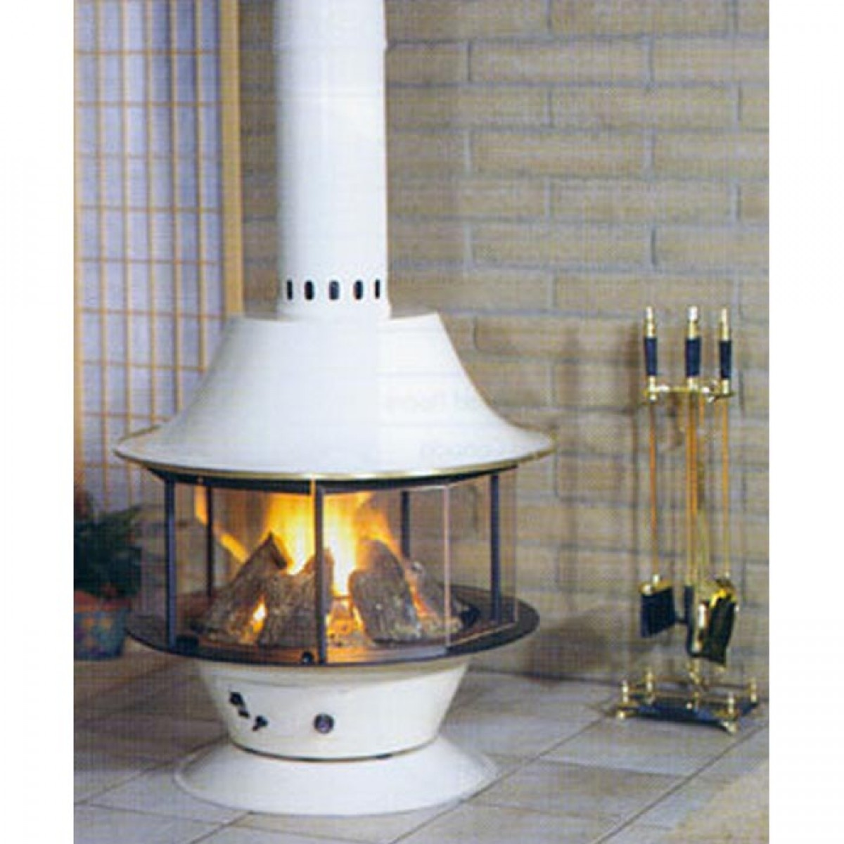 malm making yellow brick century conversion home over fireplaces our fireplace mcm mid