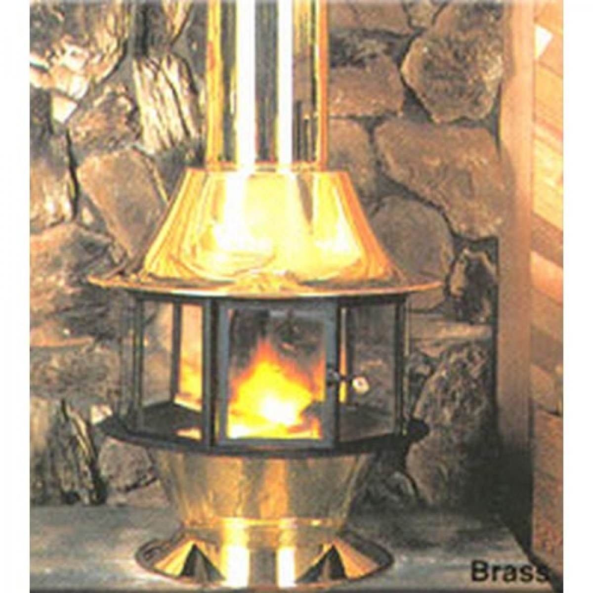 spin a fire wood burning or gas matte black or porcelain colors