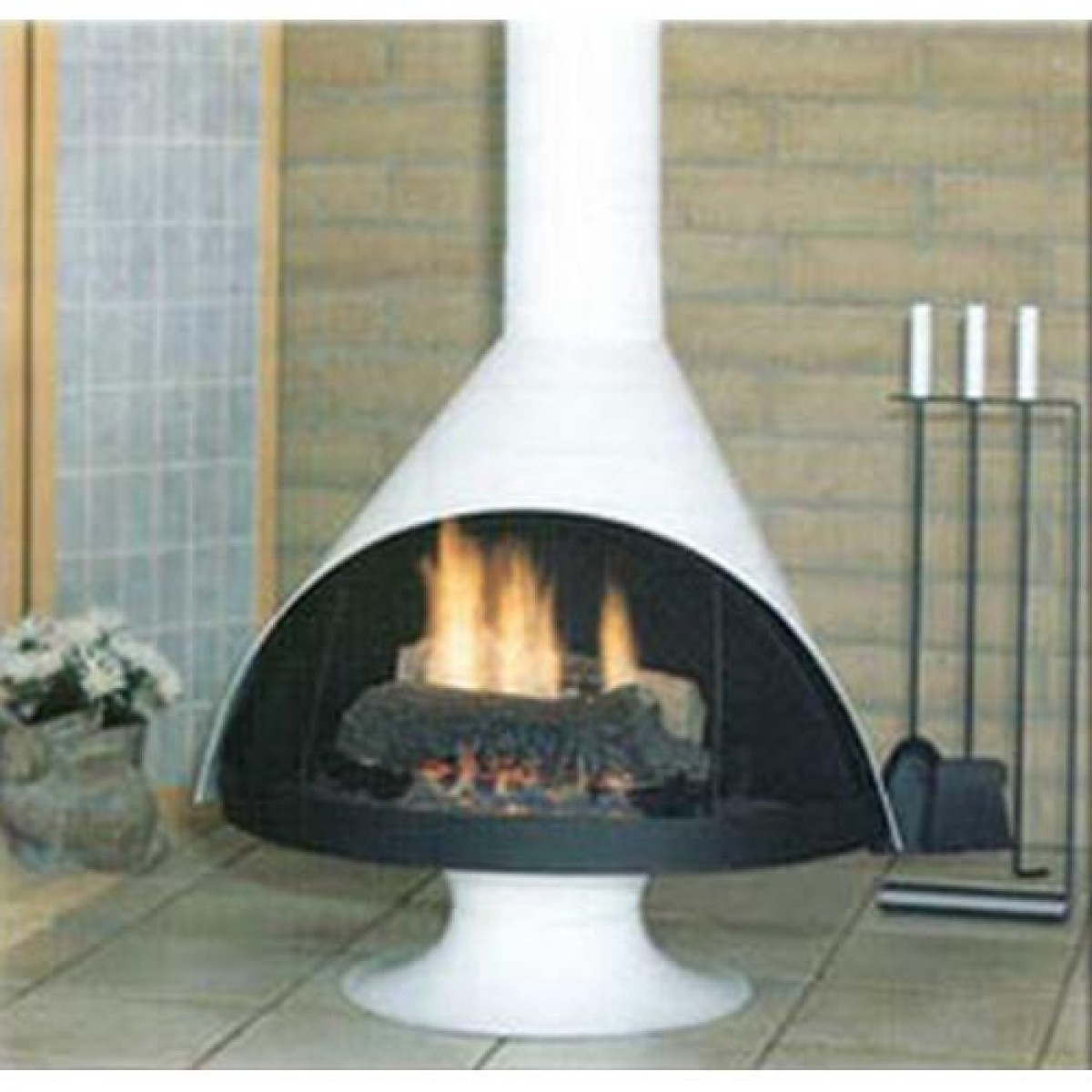fireplaces malm fireplace and garden patios pin outside pinterest home