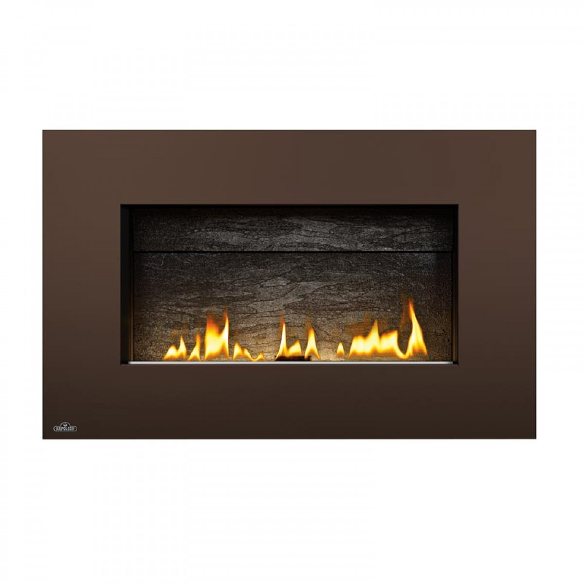 Napoleon Whvf31n Plazmafire Vent Free Natural Gas Fireplace W Slate Brick Panel At Ibuyfireplaces