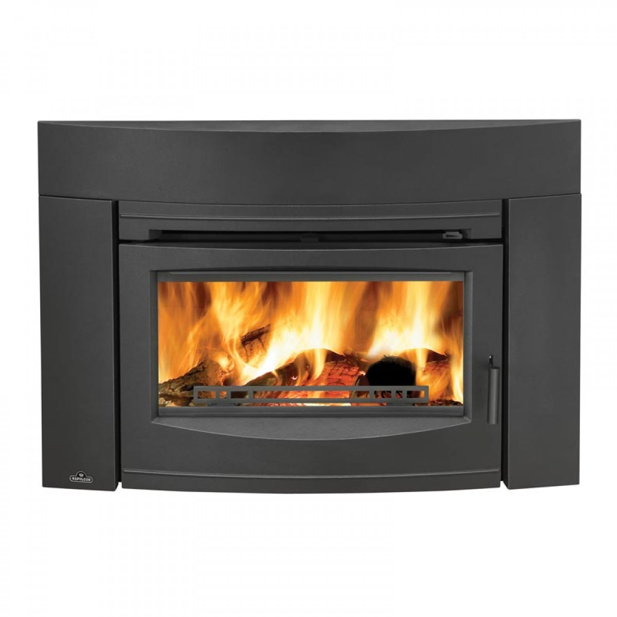 Napoleon epi3 wood burning fireplace insert w cast iron Contemporary wood fireplace insert