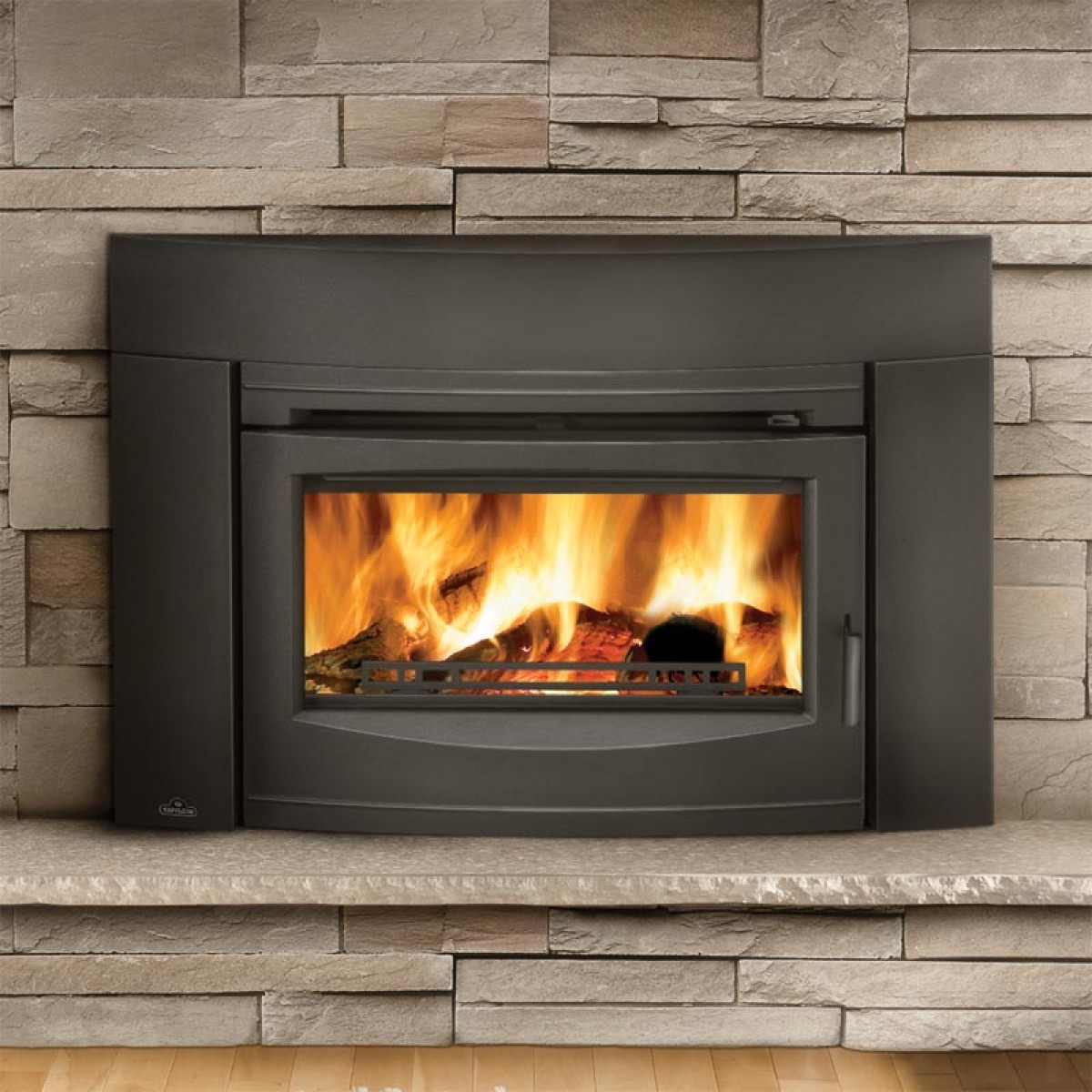Napoleon Epi3 Wood Burning Fireplace Insert W Cast Iron Surround And Door At Ibuyfireplaces