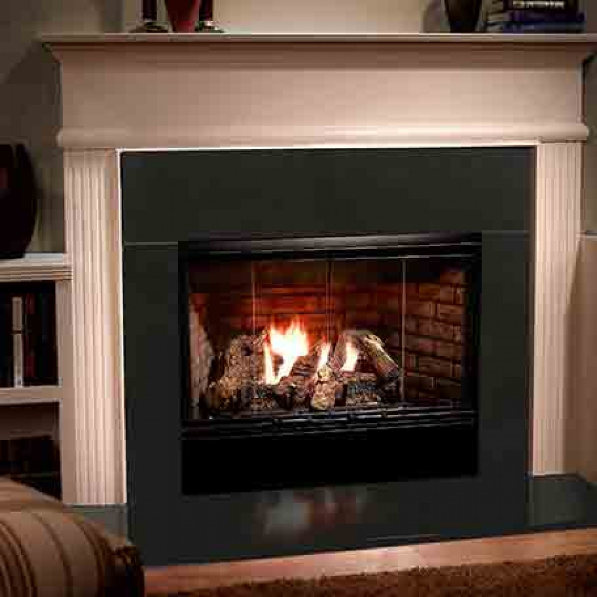 showroom fireplace watch gas youtube video fireplaces majestic
