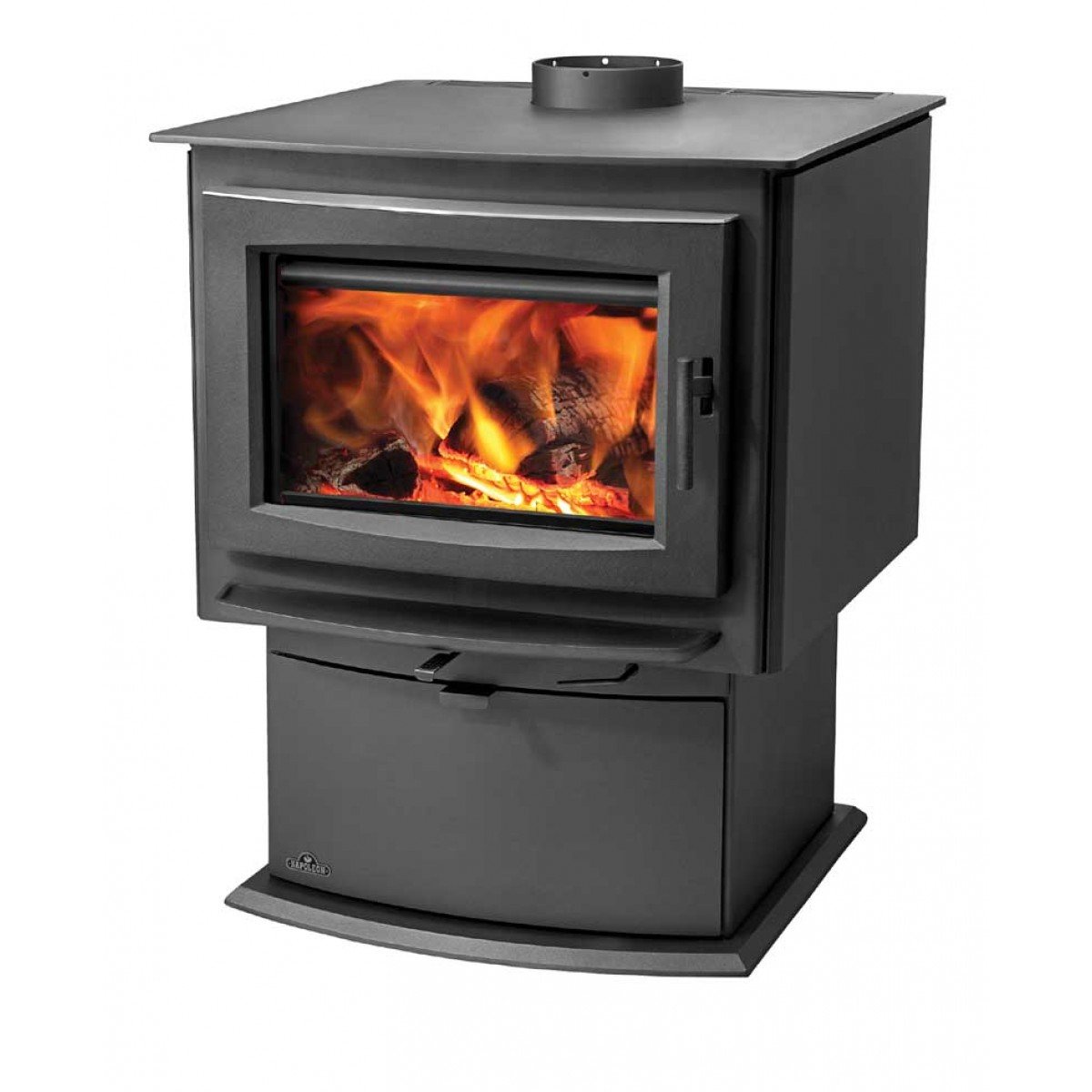 watch burning fireplace youtube stove little cod small wood