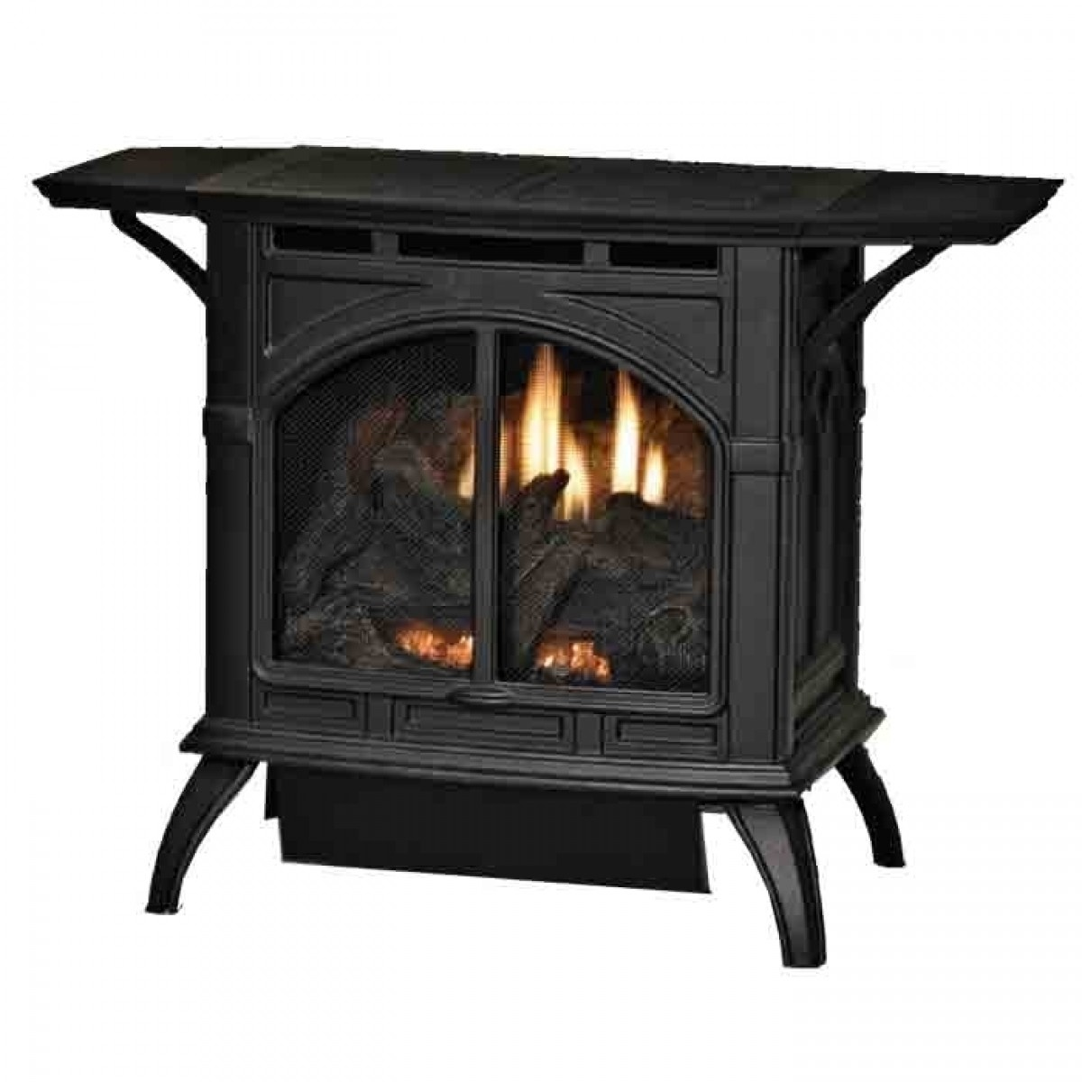Empire Cast Iron Vent Free Gas Stove