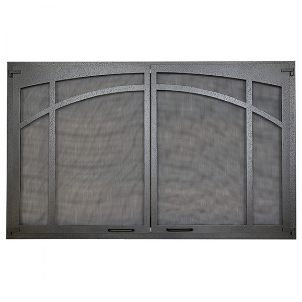 Ihp Superior Asd3628 Ti Arched Screen Door Textured Iron