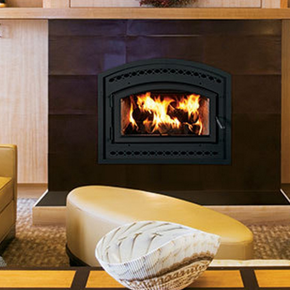 IHP Superior WCT6840WS EPA Phase II Fireplaces, Traditional, White ...