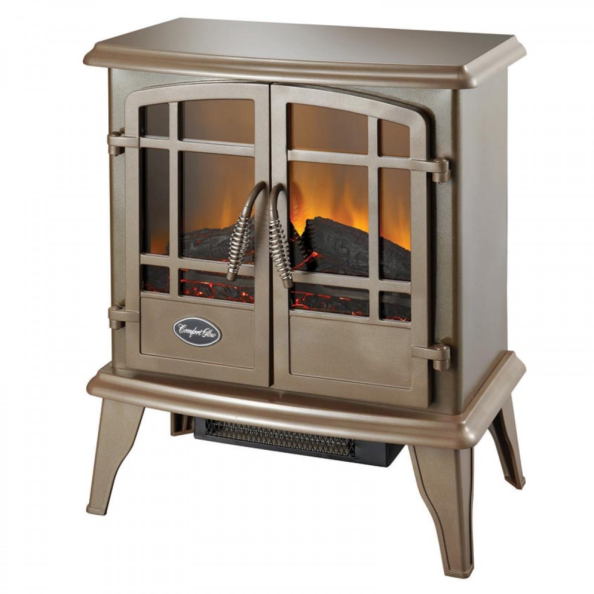 the keystone es5132 bronze electric wood stove. Black Bedroom Furniture Sets. Home Design Ideas