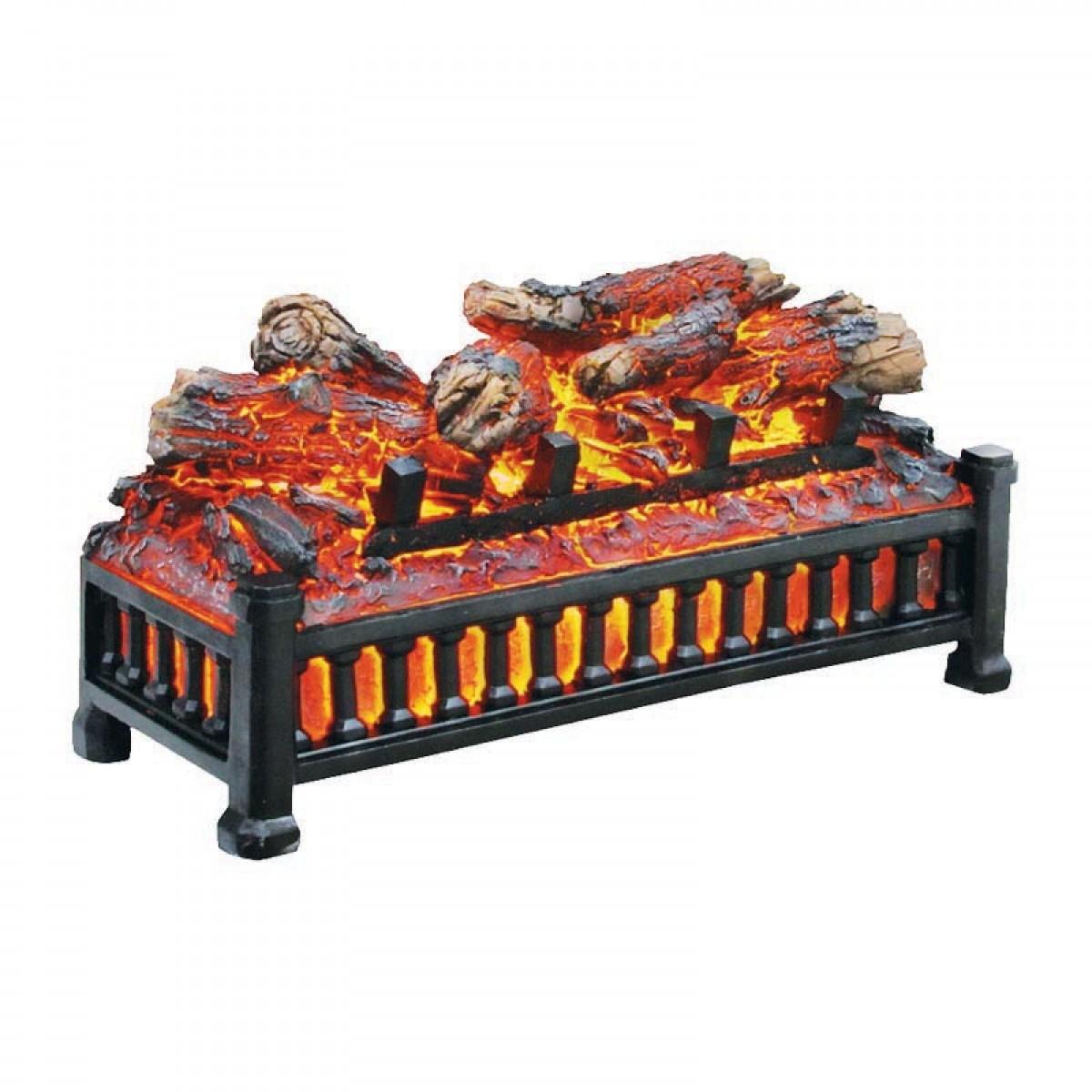 Pleasant Hearth Electric Fireplace Log No Heat L 24