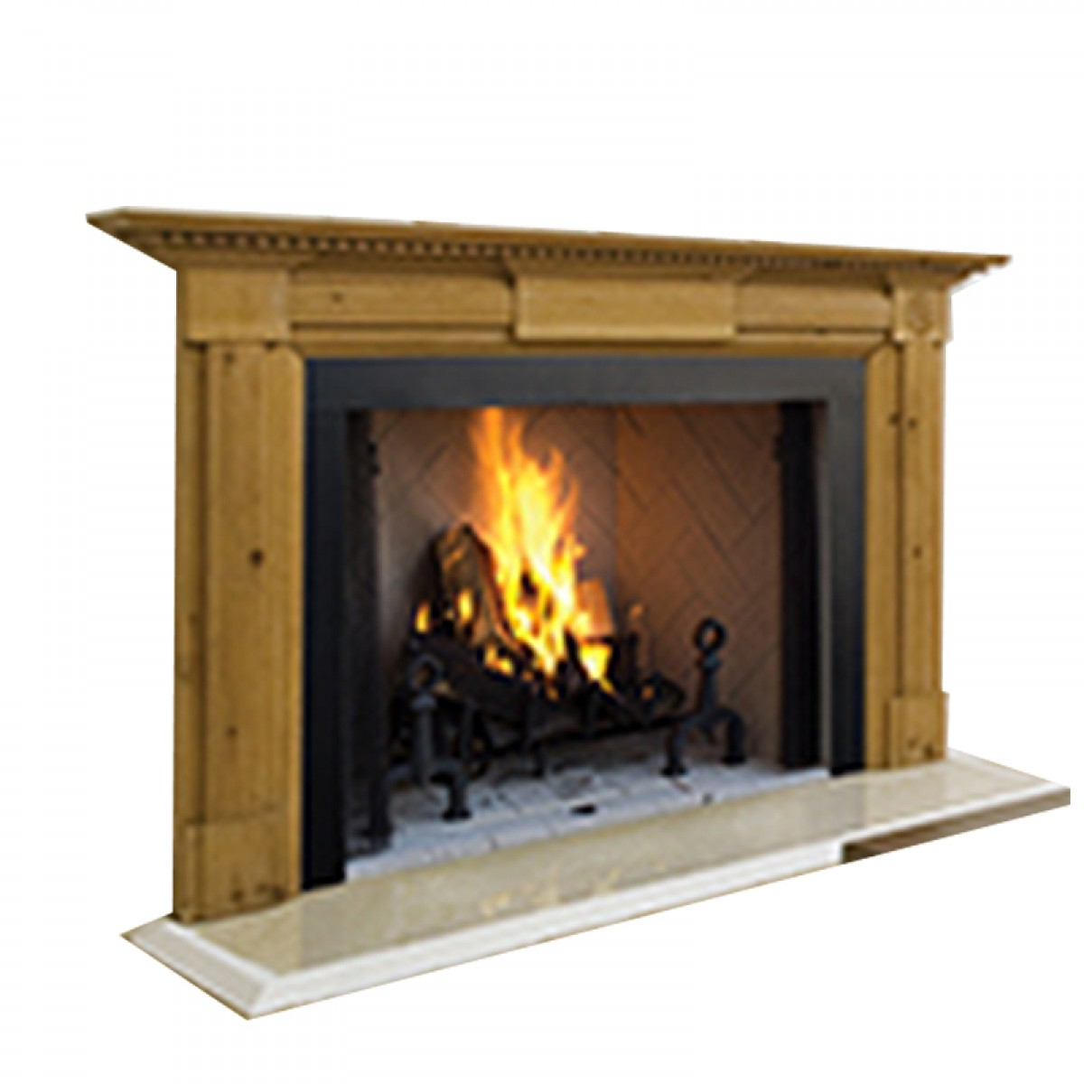 Ihp Superior Wrt4550wh 50 Quot Wood Fireplace Panels
